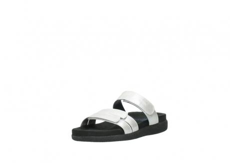 wolky slippers 0501 cirrus 919 parelwit metallic leer_22