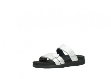 wolky slippers 0501 cirrus 919 parelwit metallic leer_23