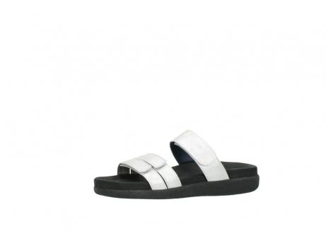 wolky slippers 0501 cirrus 919 parelwit metallic leer_24
