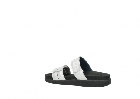 wolky slippers 0501 cirrus 919 parelwit metallic leer_3
