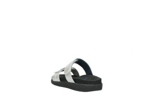wolky slippers 0501 cirrus 919 parelwit metallic leer_5