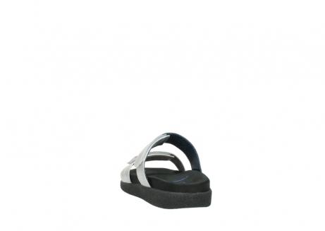wolky slippers 0501 cirrus 919 parelwit metallic leer_6