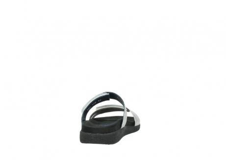 wolky slippers 0501 cirrus 919 parelwit metallic leer_8
