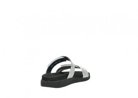 wolky slippers 0501 cirrus 919 parelwit metallic leer_9