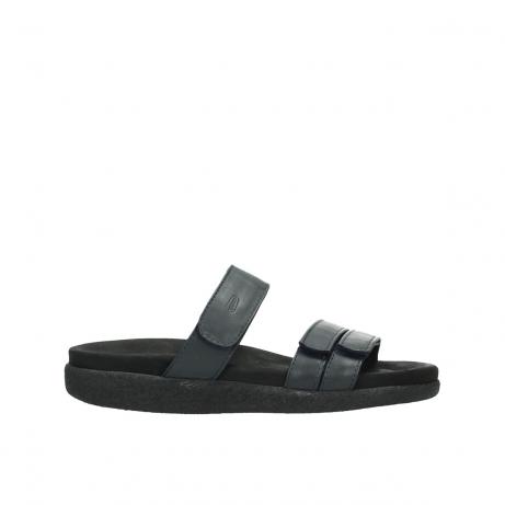 wolky slippers 0511 cirrus men 380 donkerblauw leer