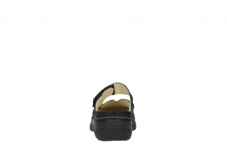 wolky pantoletten 06227 roll slipper 10300 braun metallic leder meliert_7