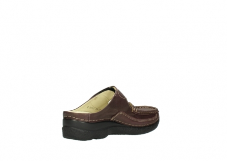 wolky slippers 06227 roll slipper 10620 bordeaux metallic gemeleerd leer_10