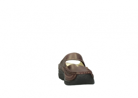 wolky slippers 06227 roll slipper 10620 bordeaux metallic gemeleerd leer_18