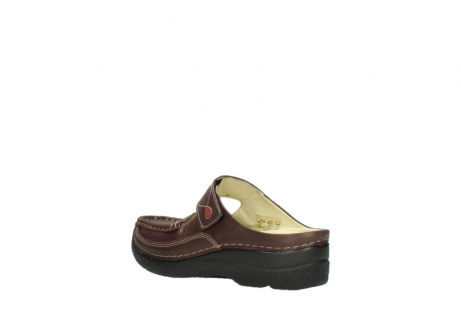 wolky slippers 06227 roll slipper 10620 bordeaux metallic gemeleerd leer_4
