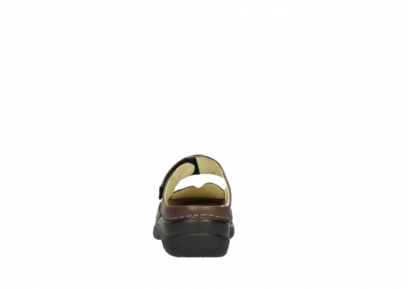 wolky slippers 06227 roll slipper 10620 bordeaux metallic gemeleerd leer_7