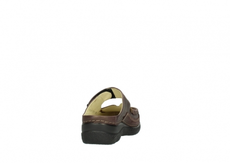 wolky slippers 06227 roll slipper 10620 bordeaux metallic gemeleerd leer_8
