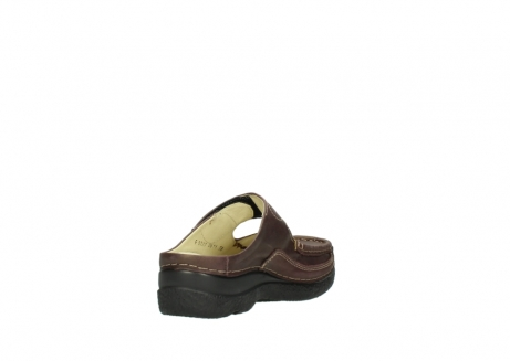 wolky slippers 06227 roll slipper 10620 bordeaux metallic gemeleerd leer_9