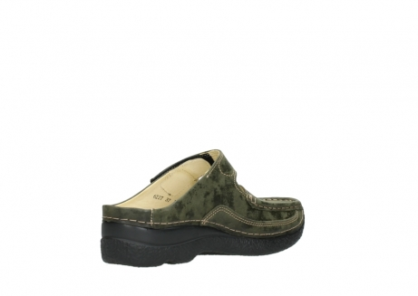 wolky pantoletten 06227 roll slipper 10733 forest grun_10