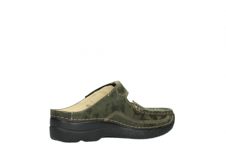 wolky pantoletten 06227 roll slipper 10733 forest grun_11