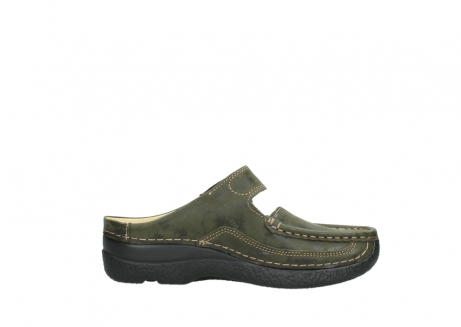 wolky pantoletten 06227 roll slipper 10733 forest grun_13
