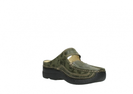 wolky pantoletten 06227 roll slipper 10733 forest grun_16