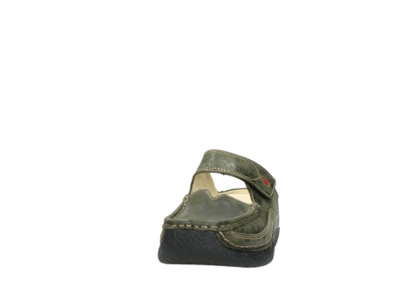 wolky pantoletten 06227 roll slipper 10733 forest grun_20