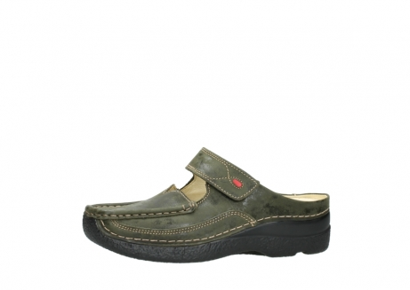 wolky pantoletten 06227 roll slipper 10733 forest grun_24
