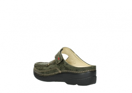 wolky pantoletten 06227 roll slipper 10733 forest grun_4