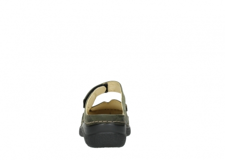 wolky pantoletten 06227 roll slipper 10733 forest grun_7