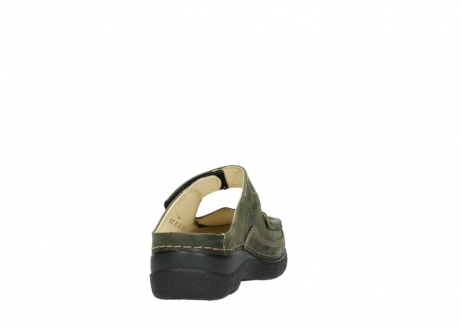 wolky pantoletten 06227 roll slipper 10733 forest grun_8