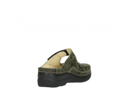 wolky pantoletten 06227 roll slipper 10733 forest grun_9