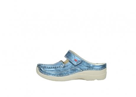 wolky slippers 06227 roll slipper 10870 blauw nubuck_1