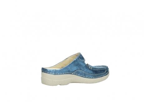 wolky slippers 06227 roll slipper 10870 blauw nubuck_11