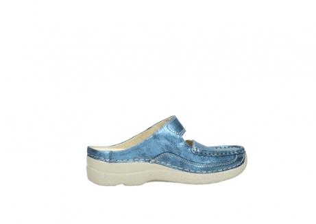 wolky slippers 06227 roll slipper 10870 blauw nubuck_12