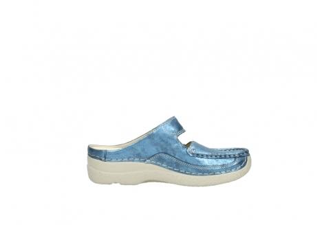 wolky slippers 06227 roll slipper 10870 blauw nubuck_13
