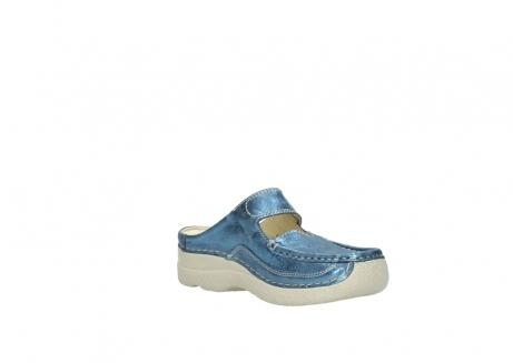 wolky slippers 06227 roll slipper 10870 blauw nubuck_16
