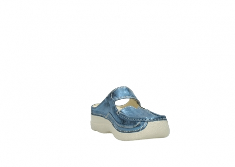 wolky slippers 06227 roll slipper 10870 blauw nubuck_17