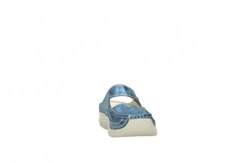 wolky slippers 06227 roll slipper 10870 blauw nubuck_18