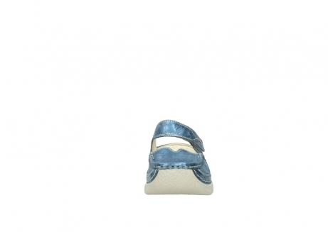 wolky slippers 06227 roll slipper 10870 blauw nubuck_19