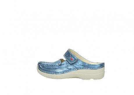 wolky slippers 06227 roll slipper 10870 blauw nubuck_2