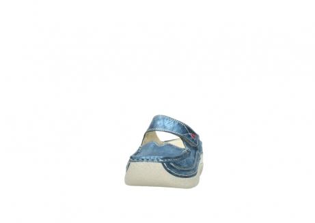 wolky slippers 06227 roll slipper 10870 blauw nubuck_20