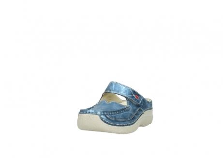 wolky slippers 06227 roll slipper 10870 blauw nubuck_21