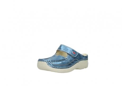 wolky slippers 06227 roll slipper 10870 blauw nubuck_22
