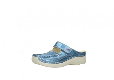 wolky slippers 06227 roll slipper 10870 blauw nubuck_23