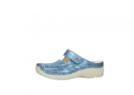 wolky slippers 06227 roll slipper 10870 blauw nubuck_24