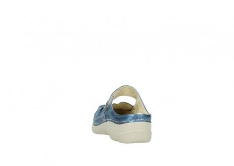 wolky slippers 06227 roll slipper 10870 blauw nubuck_6