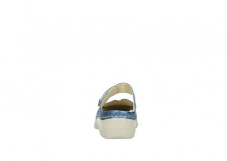 wolky slippers 06227 roll slipper 10870 blauw nubuck_7
