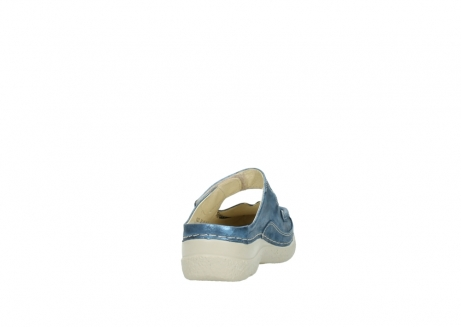 wolky slippers 06227 roll slipper 10870 blauw nubuck_8