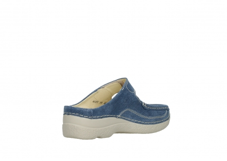 wolky slippers 06227 roll slipper 15820 denimblue nubuck_10