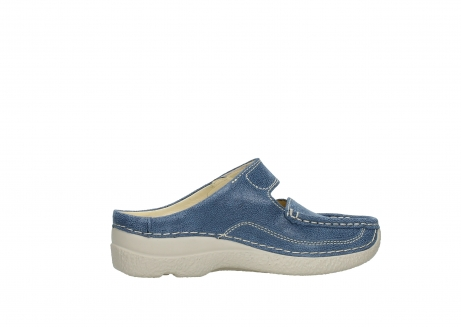 wolky slippers 06227 roll slipper 15820 denimblue nubuck_12