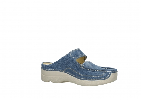 wolky slippers 06227 roll slipper 15820 denimblue nubuck_15