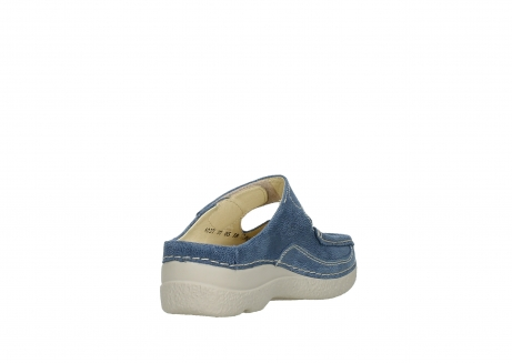 wolky slippers 06227 roll slipper 15820 denimblue nubuck_9