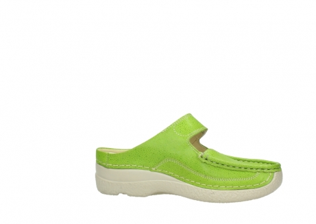 wolky slippers 06227 roll slipper 90750 lime dots nubuck_14