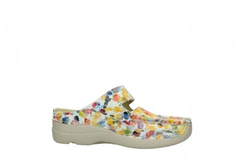 wolky slippers 06227 roll slipper 12910 white multi nubuck_14