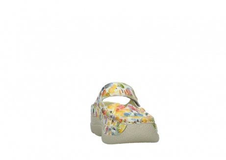 wolky slippers 06227 roll slipper 12910 white multi nubuck_18